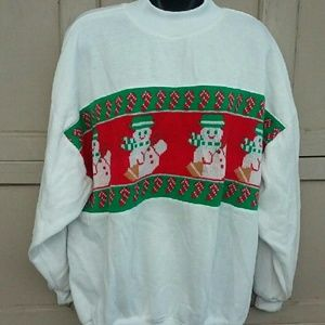 Christmas snowman sweatshirt